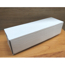 Коробка самосборная белая КС-409 20х6х5 см
