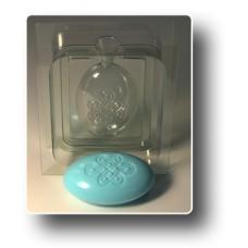 """3D форма для мыла """"Овал - Узел долголетия"""""""