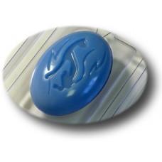 """3D Пластиковая форма для мыла """"Овал - Черная пантера"""""""