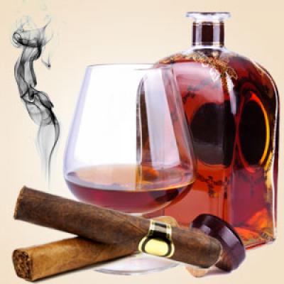 """Ароматическое масло """"Коньяк и сигары"""", 10 мл"""