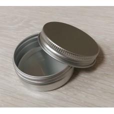 Баночка для косметики алюминиевая, 30 грамм