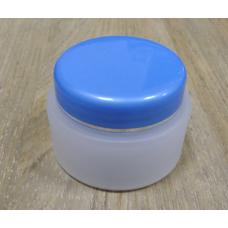 Банка для крема с голубой крышкой, 50 мл