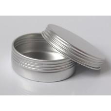 Баночка для косметики алюминиевая, 20-25 грамм