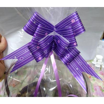 Бант-затяжка для упаковки подарков Фиолетовый
