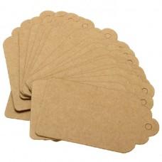 Бирка картонная на изделие ручной работы, 6 х 3,5 см