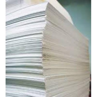Бумага водорастворимая, 1 лист