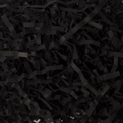 Бумажный наполнитель для коробок Черный шелк, 50 г
