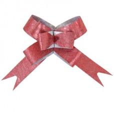 Бант-бабочка Бордовый диаметр 10 см