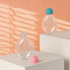 Бутылочка для хранения «Овал», 50 мл, цвет МИКС