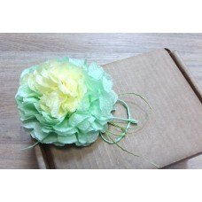 Декор - цветок для коробочек, крафт-пакетов, 1 шт (большой)