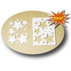 """Декор-набор для мыла """"Звезды разные"""""""