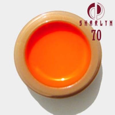 Пигмент в глицерине Неоновый Оранжевый, 15 мл