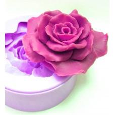 """Дизайнерская 3Д форма """"Роза большая"""""""