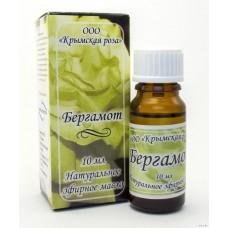 Эфирное масло Бергамота, 10 мл (Крымская Роза)