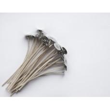 Фитиль с фитиледержателем вощеный Stabilio-16, 10 см