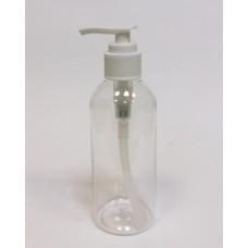 Флакон ПЭТ косметический с дозатором для геля для душа и жидкого мыла, 200 мл