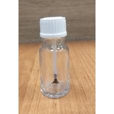 Флакон стеклянный с кисточкой 10 мл