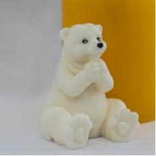 Дизайнерская форма 3Д Белый медведь