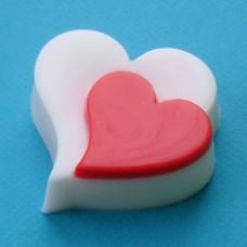"""Пластиковая форма для мыла """"Романтика"""""""