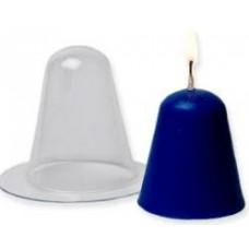 Форма для парафиновых свечей Конус малый