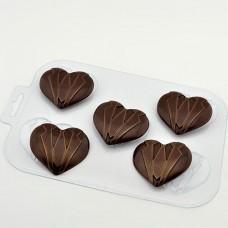 Форма для шоколада Мужское сердце