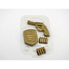 Пластиковая форма для шоколада Набор Военного