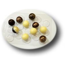 Пластиковая форма для шоколада Конфеты Сферы 30 мм