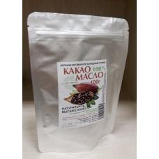 Какао-масло нерафинированное пищевое, 100 г