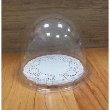 Контейнер-купол с прозрачным дном Д 9 см