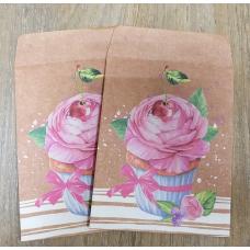 Конверт бумажный для сладостей 8х10 см Сказочного Дня