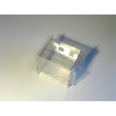Короб для брускового мыла на 0,5 кг (пластмассовый)