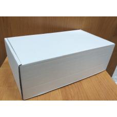 Коробка самосборная Белая КС-432 230х130х80 мм