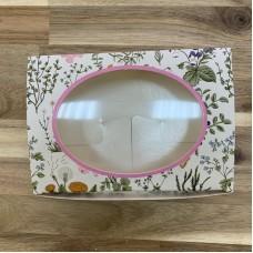 """Коробка с окошком """"Ботаника"""" 15,5 х 11 х 4 см"""
