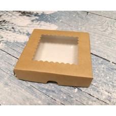 Коробочка с ажурным окошком 12х12 см