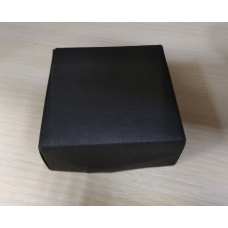 Коробочка Черная картон 7,5х7,5 см