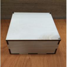 Коробка деревянная КРБ-06 10х10 см