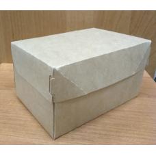 Коробка крафт картонная 15х10х8,5 см