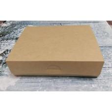 Коробка картонная без окошка 21х16 см