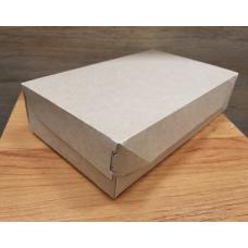 Коробка крафт без окошка 23х14 см