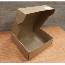 Коробочка квадрат Крафт 9х9 см