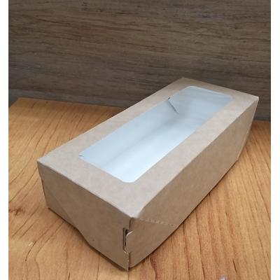 Коробка подарочная с окошком 16,5 см х 7 см