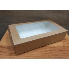 Коробка  крафт- пенал выдвижная 20х12 см