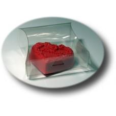 Коробка прозрачная ПП1-002 (пластик)