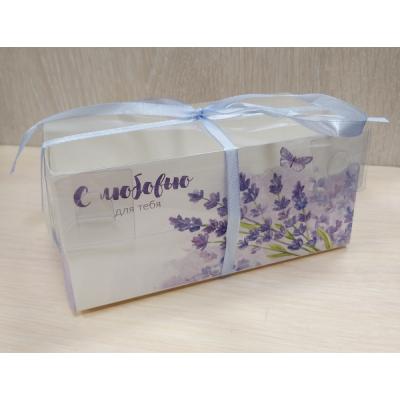 Коробочка с прозрачной крышкой С Любовью 16х8 см