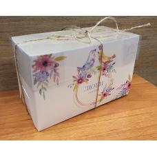 Коробочка для капкейка Люби и Мечтай, 16х8х10 см