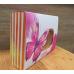 Коробка подарочная Улыбайся розовая 20х15х5 см