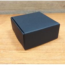 Коробочка для мыла Черный картон 6 х 6 см