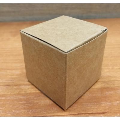 Коробочка Крафт квадратная 5х5х5 см под баночку