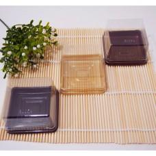 Коробочка пластиковая с прозрачной крышкой 6х6 см