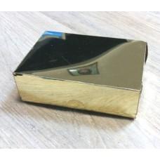 Коробочка с золотым напылением